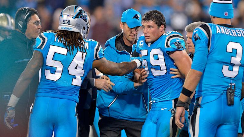 Panthers' Luke Kuechly Being Evaluated for Concussion