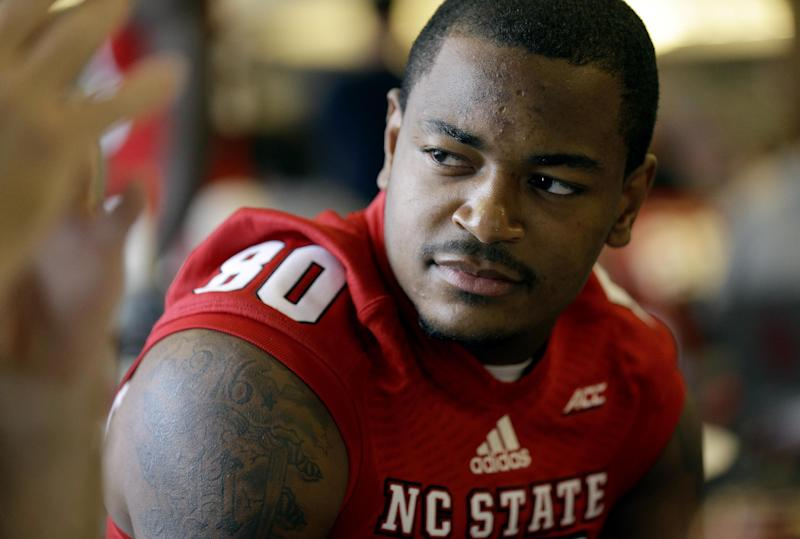 Underwood ready to make big plays for Wolfpack