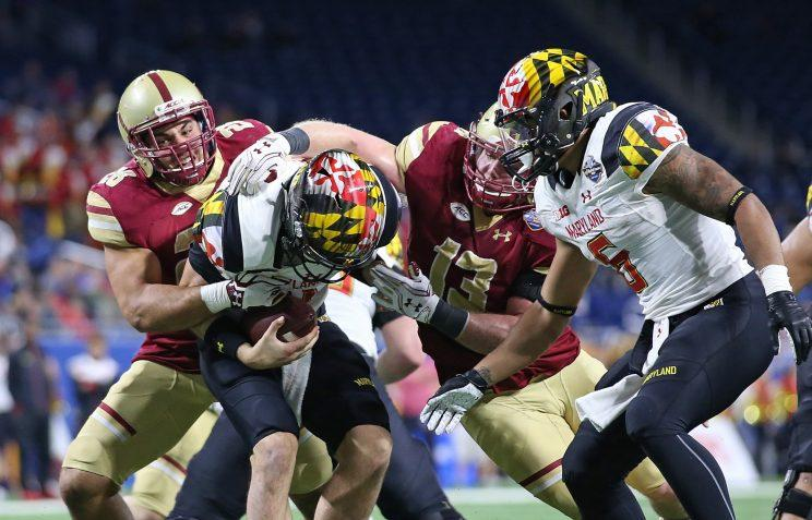 Boston College wins Quick Lane Bowl in unlikely offensive battle