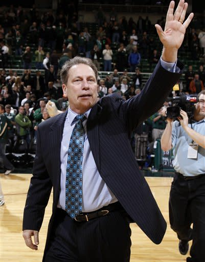 No. 10 Michigan St tops Minnesota for Izzo's 400th