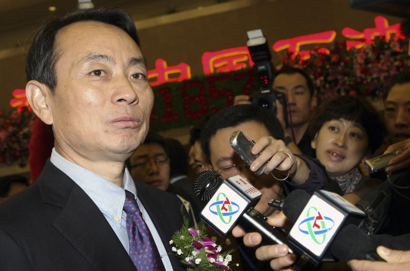 China's new leaders exert control over oil company