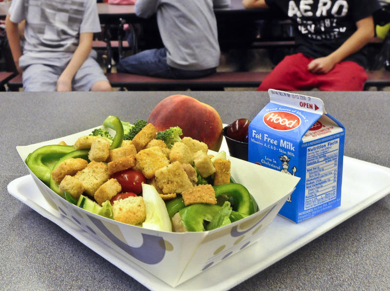 Trump administration relaxing Obama-era school lunch standards