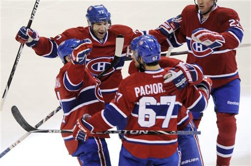 Pacioretty's line leads Canadiens over Rangers 4-1