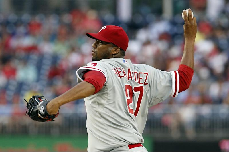 Byrd homer lifts Phillies over Nationals 2-1