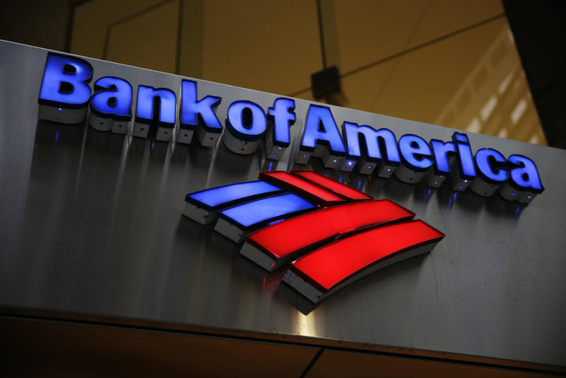 Bank of America 4Q earnings jump nearly five-fold