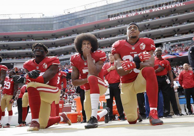 Ginsburg: Sorry for criticizing Kaepernick anthem protest