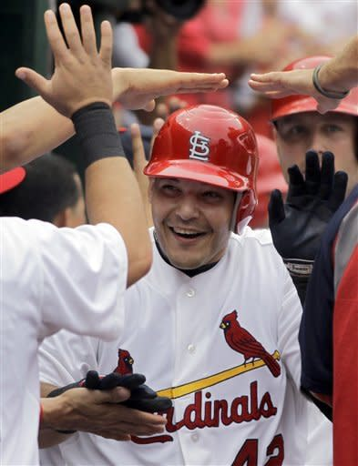 Cardinals whip Cubs 10-3, take series
