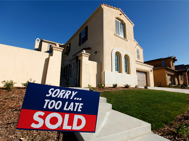 More Americans sign contacts in September to buy homes