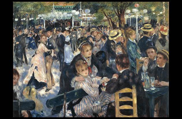 Le Moulin de la Galette by Pierre-Auguste Renoir, $78.1 million.