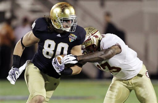 FSU rallies past Notre Dame in Champs Sports Bowl