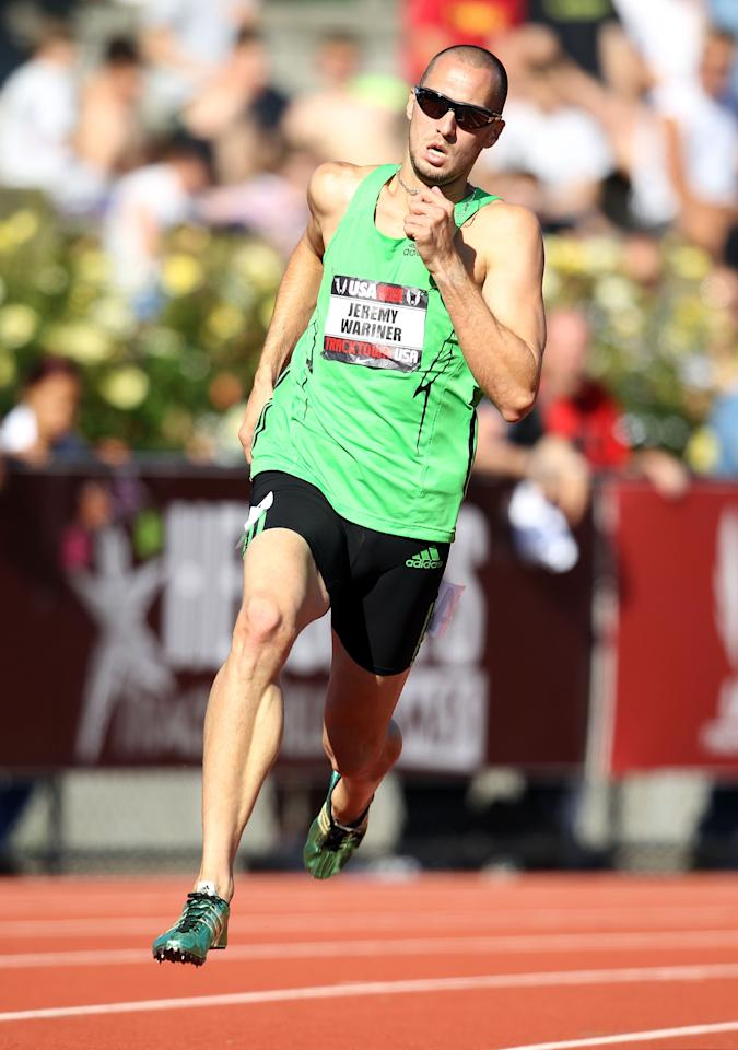 EUGENE, OR - JUNE 24:  Jeremy Wariner runs in the 400 meter run during the 2011 USA Outdoor Track & Field Championships at Hayward Field on June 24, 2011 in Eugene, Oregon.  (Photo by Andy Lyons/Getty Images)