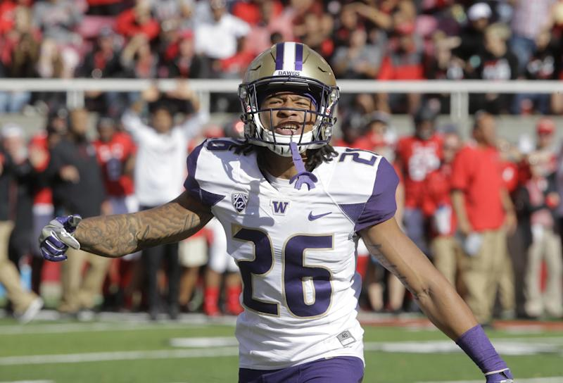Potential Jets Draft Target Sidney Jones Reportedly Injured at Washington Pro Day