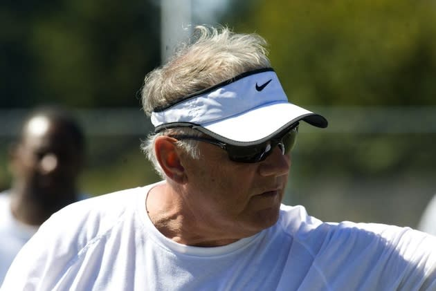Lakeridge coach Tom Smythe, who, incredibly, is 52-3 in all-time season openers as a coach — The Oregonian