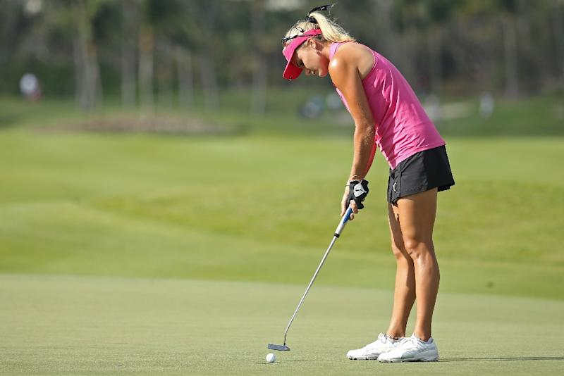 Lexi Thompson flirts with 59, fires 2nd-best score in LPGA history