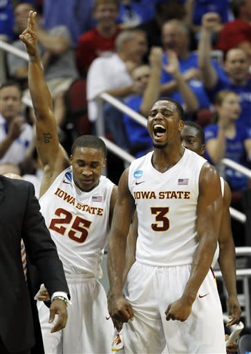 Cyclones take out defending champ UConn 77-64