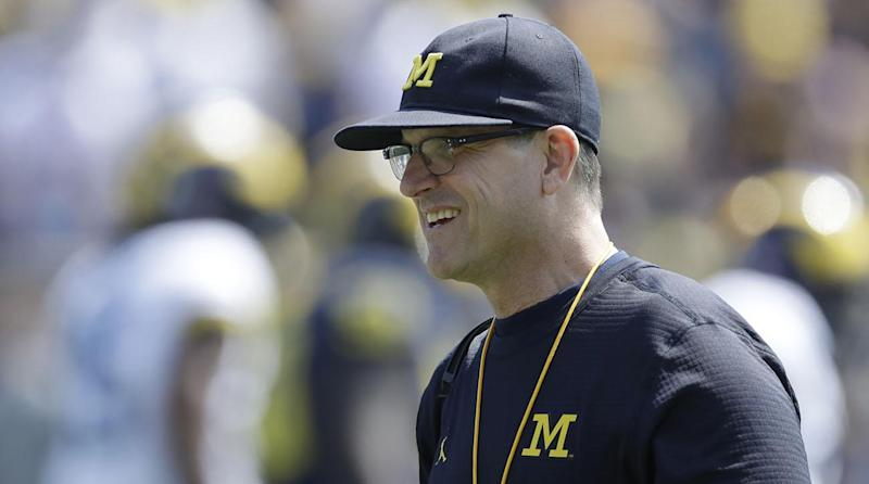 A boy named Harbaugh: Couple names son after Michigan's coach