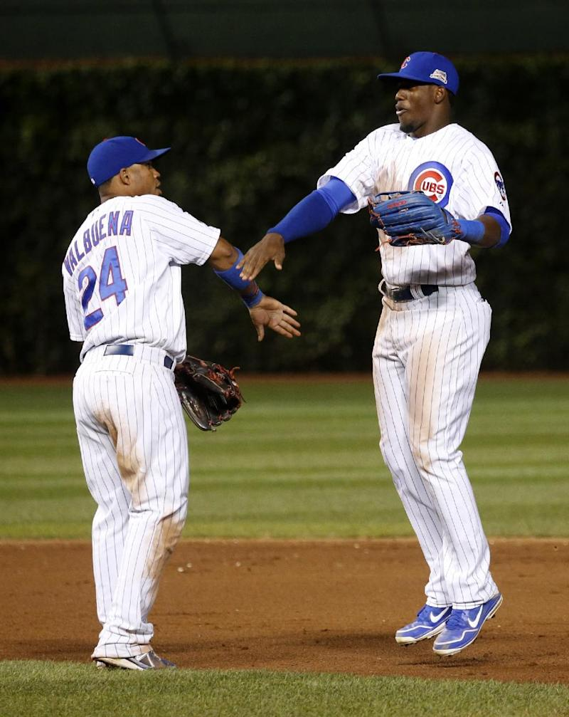 Soler drives in two more runs as Cubs beat Brewers