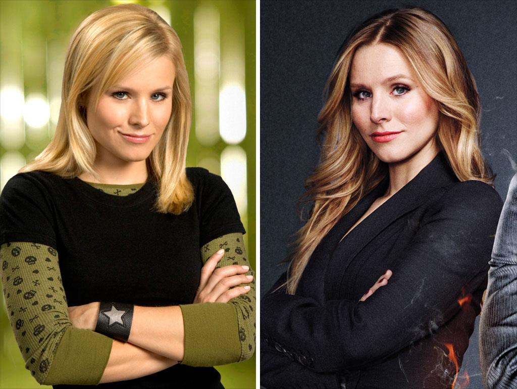 """<strong>Kristen Bell</strong><br /> <strong>Played:</strong> Snarky sleuth Veronica Mars<br /><strong>Availability:</strong> Yes, otherwise, there's no point<br /><br />As we said, Bell is the crucial element to the movie, so the shoot will revolve around her schedule. The pregnant star is due to give birth this spring, and then she'll have some time before production gets under way for the third season of her Showtime series, <a href=""""http://tv.yahoo.com/shows/house-of-lies/"""">""""House of Lies.""""</a> Otherwise, her other project this year, Disney's animated """"Frozen,"""" requires only voice work."""