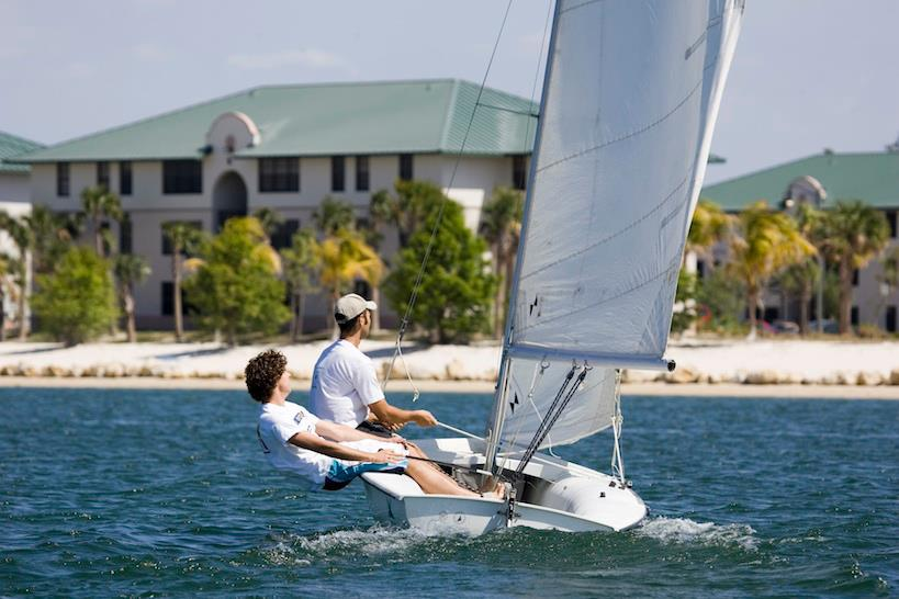North Lake Village, FGCU's popular apartment-style housing, is located on an 80-acre lake.