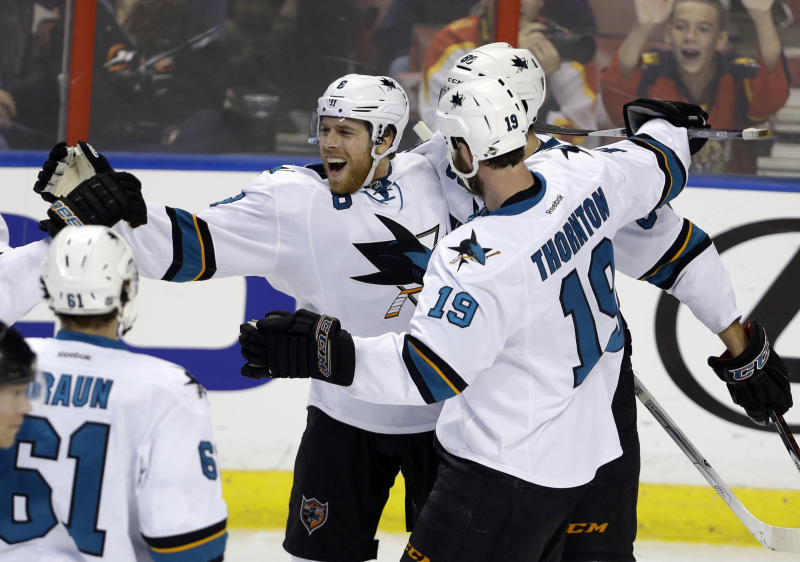 Sharks shut out Panthers 3-0