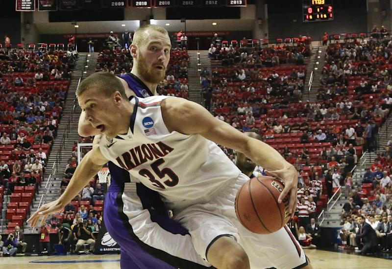 Arizona beats Weber State 68-59 in West