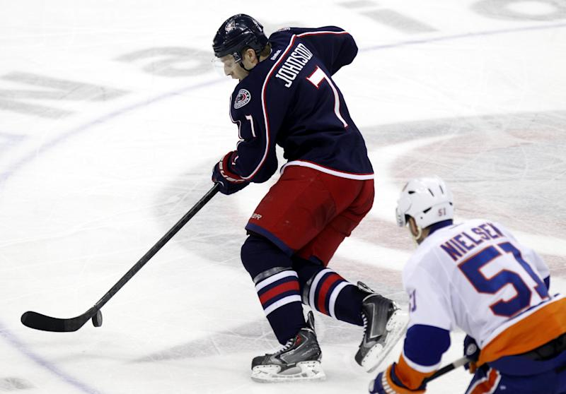 It's down to 4 games in 5 nights for Blue Jackets