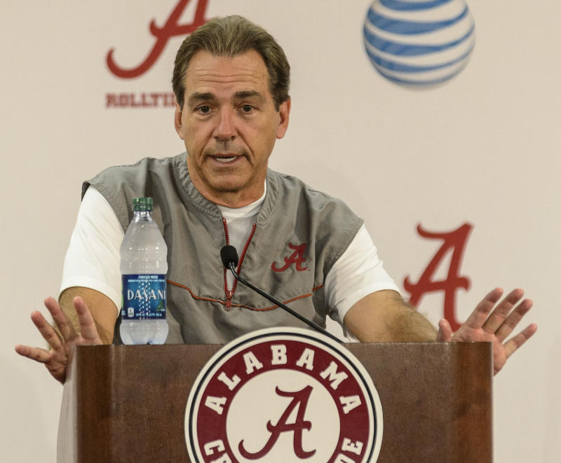 Alabama-LSU: Not even Saban downplays magnitude