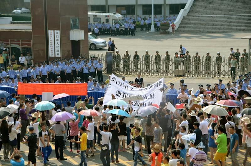 China scraps uranium processing plan after protest