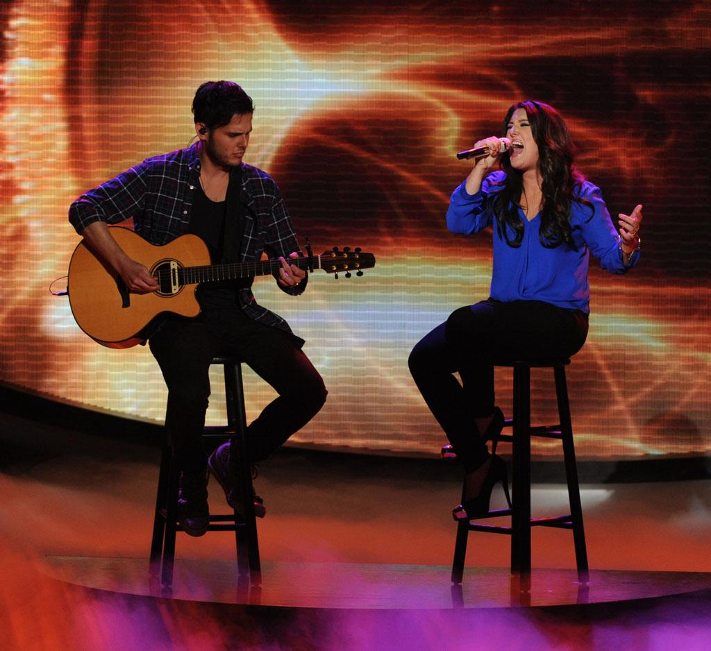 "Kree Harrison performs ""See You Again"" on the Wednesday, May 1 episode of ""American Idol."""
