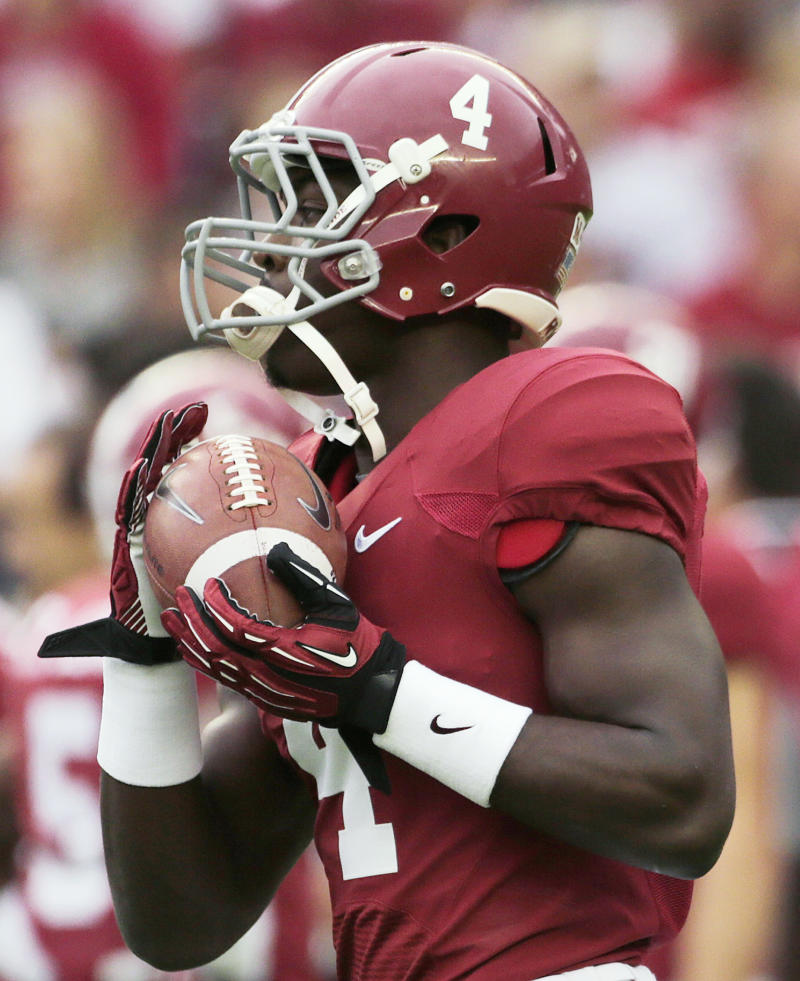 No. 1 Alabama finding variety of ways to score