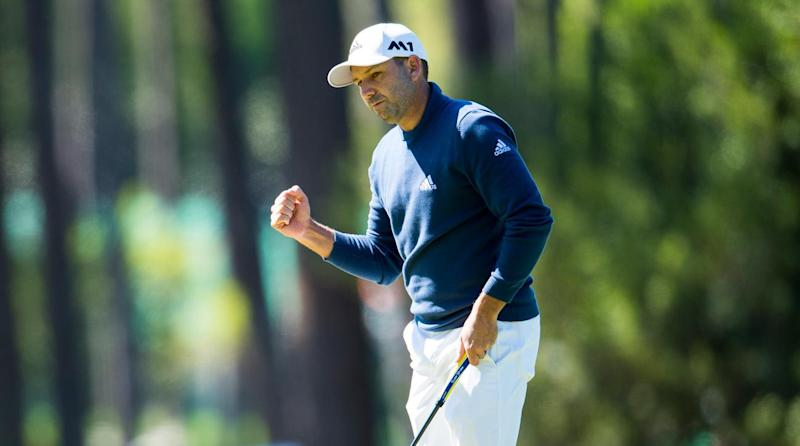 Garcia grabs share of Masters lead, Couples 3 back class=