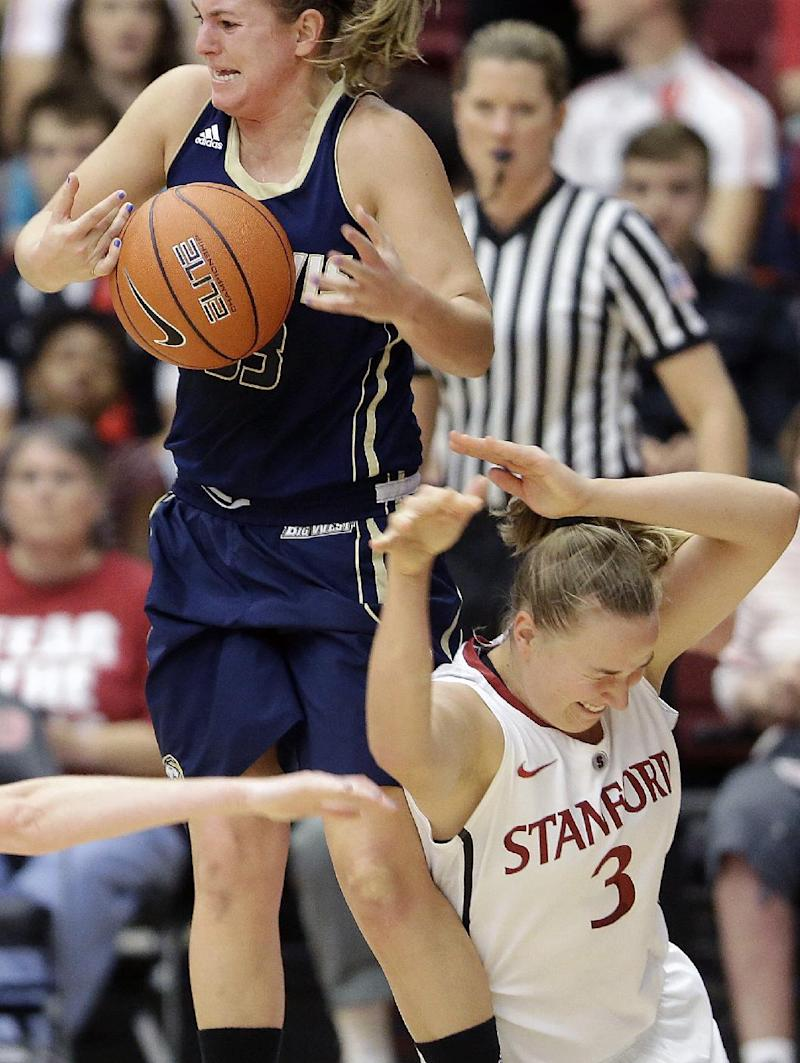 Ogwumike leads No. 3 Stanford women to win