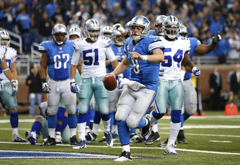 Megatron's big day lifts Lions past Cowboys
