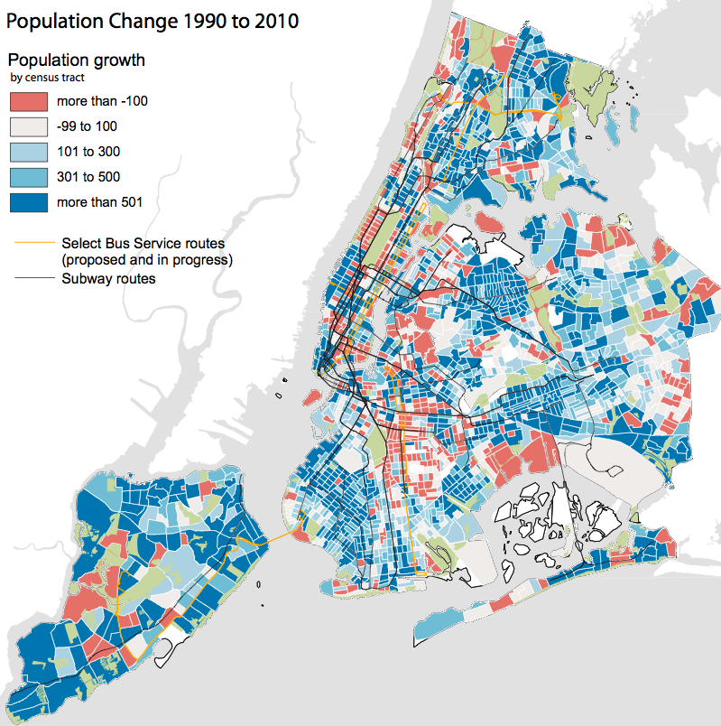 nyc population change map