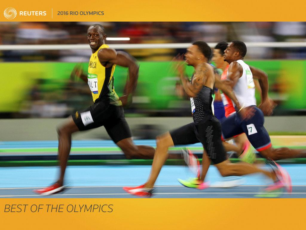 "After more than two weeks of competitive games, plenty of medals as well as tears of joy and sadness, Latin America's first Olympics wrapped up in Rio de Janeiro on Sunday. With an array of pictures capturing the action on the ground, Reuters picture editors have picked the most memorable moments from the Aug. 5-21 Summer Games. They range from the fast paced, such as Jamaican sprinter Usain Bolt glancing at Canadian rival Andre De Grasse during a race to the joyous post-competition celebrations, showing Brazilian rugby player Isadora Cerullo kissing her girlfriend after a wedding proposal at a medal ceremony. FOR EDITORIAL USE ONLY. NOT FOR SALE FOR MARKETING OR ADVERTISING CAMPAIGNS.          SEARCH ""OLY BEST"" FOR THIS STORY. SEARCH ""THE WIDER IMAGE"" FOR ALL STORIES. TPX IMAGES OF THE DAY"