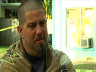 Jeremy Bush is interviewed about his brother Jeff Bush being swallowed up by a sinkhole that formed underneath their Brandon home.