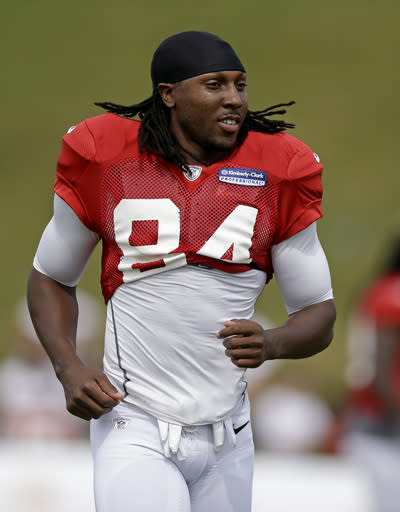 WR Roddy White returns for Falcons against Seattle