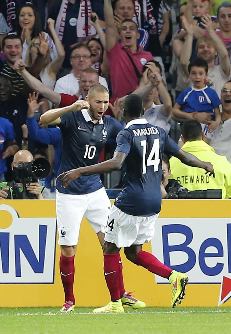 France thrashes Jamaica 8-0 in final warm-up match
