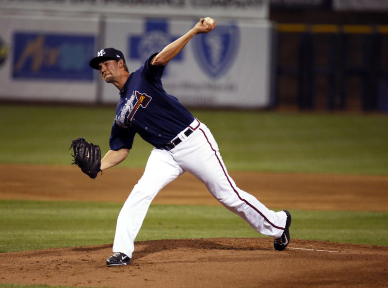 Minor strikes out 5 in Double-A rehab start