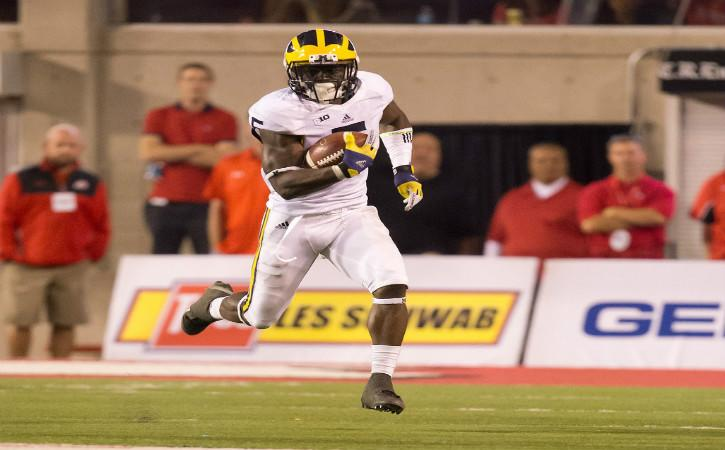 "<img width=""640"" height=""397"" alt=""Sep 3, 2015; Salt Lake City, UT, USA; Michigan Wolverines safety Jabrill Peppers (5) runs with the ball after fielding a kickoff during the second half against the Utah Utes at Rice-Eccles Stadium. Utah won 24-17. Mandatory Credit: Russ Isabella-USA TODAY Sports""/><p>Though we are still more than eight months away from the 2017 NFL Draft, it is never too early to begin taking a look towards next season's crop of NFL rookies. For the Buffalo Bills, this also means trying to project where they will possibly end up in the first round pecking order as well </p> <p>The post <a rel=""nofollow"" rel=""nofollow"" href=""http://cover32.com/2016/07/25/mock-draft-monday-jabril-peppers-buffalo-bills/"">Mock Draft Monday: Jabrill Peppers would give Buffalo Bills all-around athlete</a> appeared first on <a rel=""nofollow"" rel=""nofollow"" href=""http://cover32.com"">Cover32</a>.</p>"
