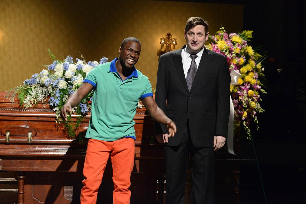 """Kevin Hart hosts the fifteenth episode of """"Saturday Night Live"""" Season 38."""