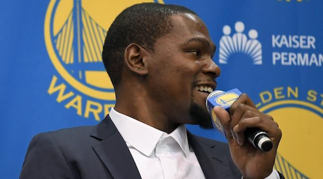 Kevin Durant Used An Expletive To Suggest His Legacy Wouldn't Be Affected By Joining The Warriors