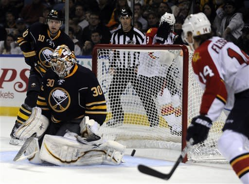 Campbell lifts Panthers to 4-3 win over Sabres