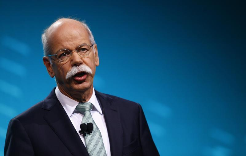 Chairman of Daimler AG and Head of Mercedes-Benz cars Dieter Zetsche speaks during the press preview day of the North American International Auto Show in Detroit