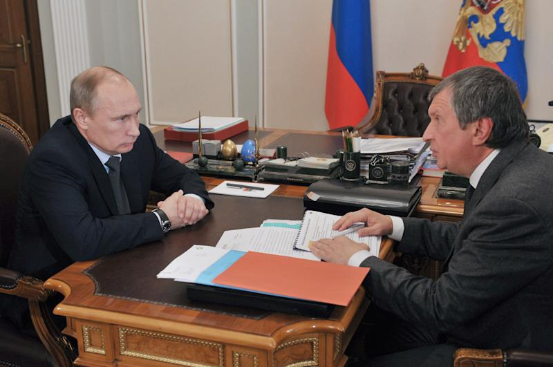 A look at Putin's man behind Rosneft rise to power