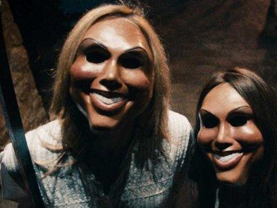 the purge scary masks horror