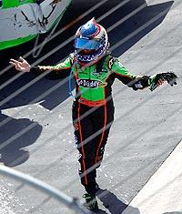 Danica not happy after wreck at Bristol