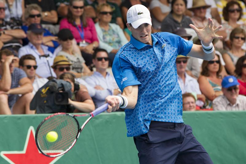 Isner out of Australian Open due to ankle injury