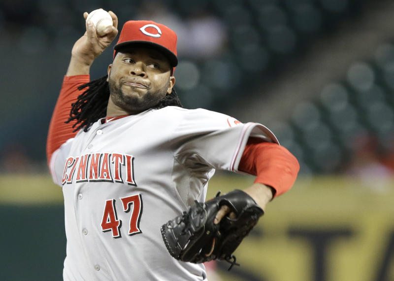 Cueto solid in return; Reds top Astros 6-1