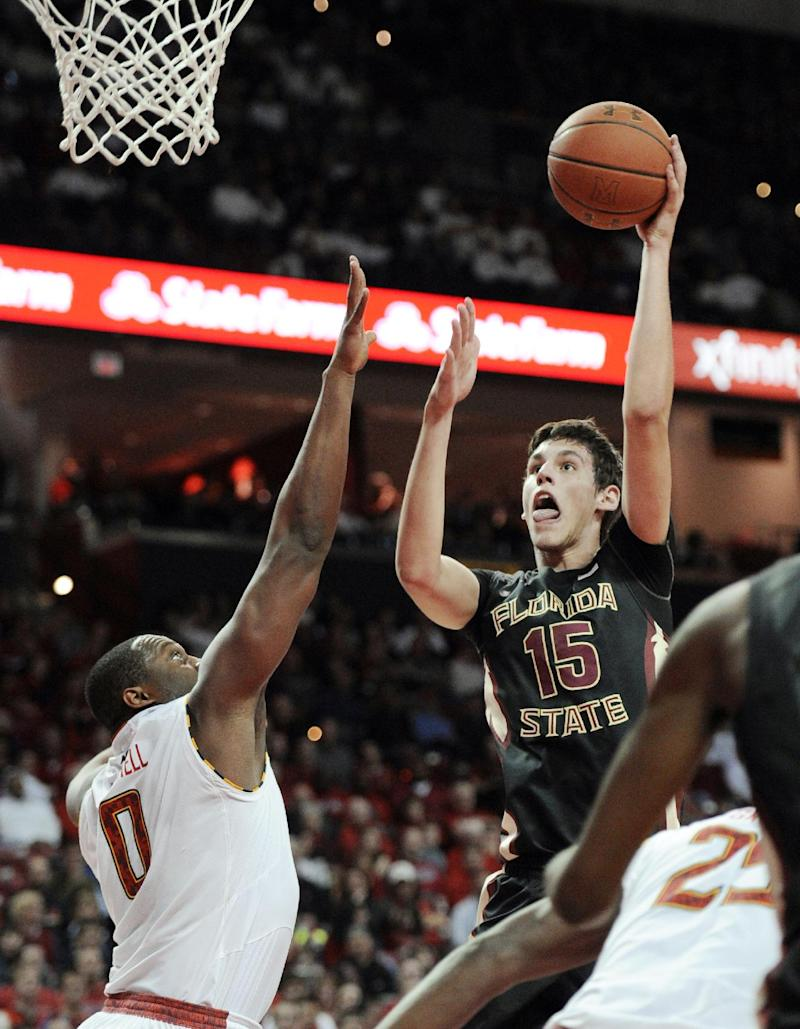 Maryland rolls to 83-71 win over Florida State
